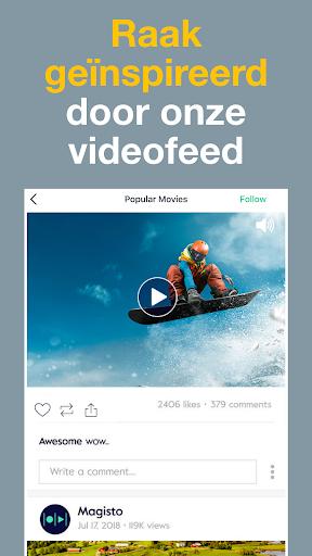 Magisto Video en Presentatie met Muziek Bewerker screenshot 8