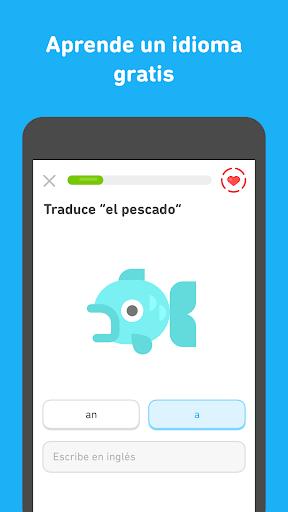 Duolingo - Aprende inglés y otros idiomas gratis screenshot 3