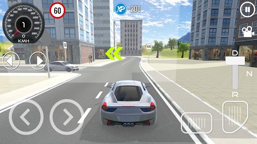 Driving School 3D Simulator screenshot 1