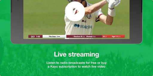 Cricket Australia Live screenshot 12