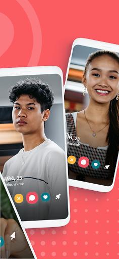 JAUMO Dating - แอพหาคู่ จับคู่แชทและจีบคนโสด screenshot 2