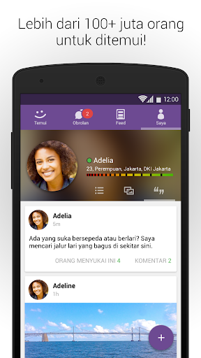MeetMe – Live Ngobrol dan Ketemu Orang Baru screenshot 5