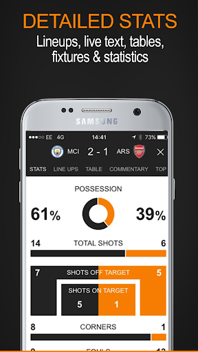 Soccerway screenshot 4