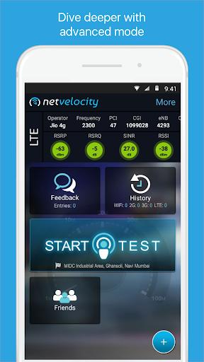 NetVelocity screenshot 2