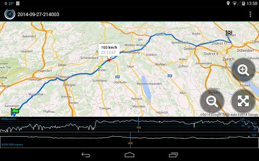 Ulysse Speedometer 11 تصوير الشاشة