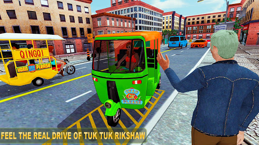 Tuk tuk Chingchi Rickshaw: City Rickshaw driver screenshot 5