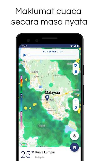 Clime: Radar Cuaca dan Ramalan screenshot 1
