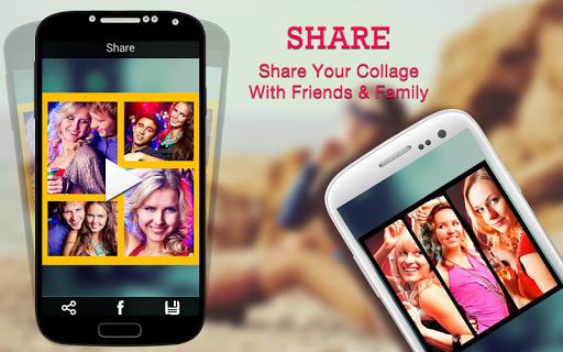 Video Collage: Foto Video Collage Maker   Musik screenshot 6