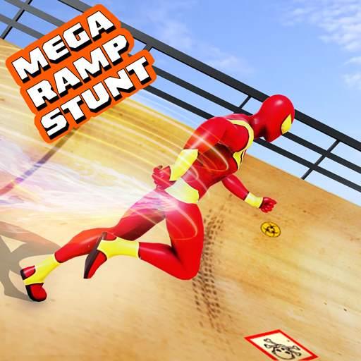 Mega Ramp Car Stunt Driving Games - Car Games