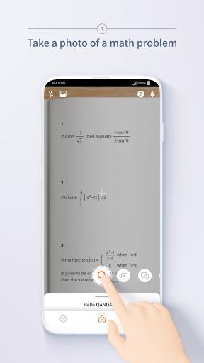 QANDA: Free Math Solutions 2 تصوير الشاشة