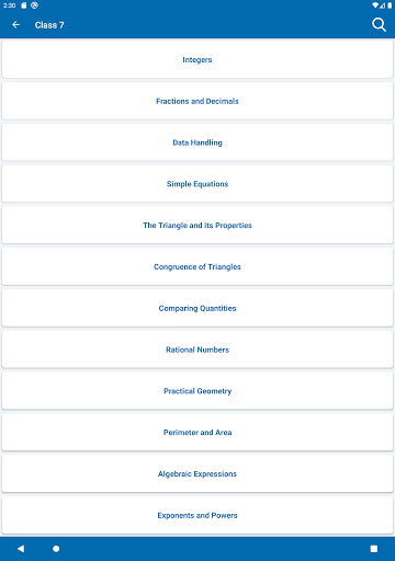 Math Formulas - Class 6 to 12 screenshot 10