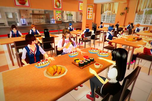real High School Girl Simulator games screenshot 9
