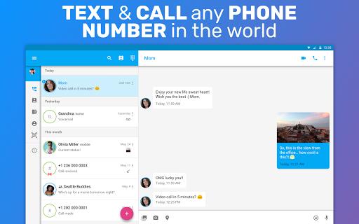 TextMe Up Free Calling & Texts 6 تصوير الشاشة