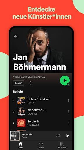 Spotify: Musik und Podcasts screenshot 4