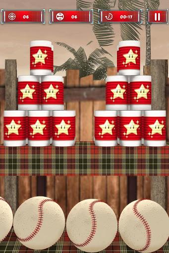 Tin Can Smasher - Hit & Knock Down Ball Shooter 3D screenshot 4