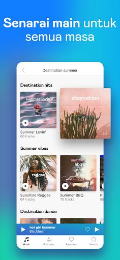 Deezer - Muzik, Senarai Main & Podcast screenshot 4