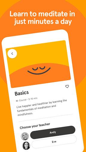 Headspace: Meditation & Sleep screenshot 4