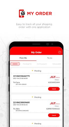 J&T Express Indonesia 5 تصوير الشاشة