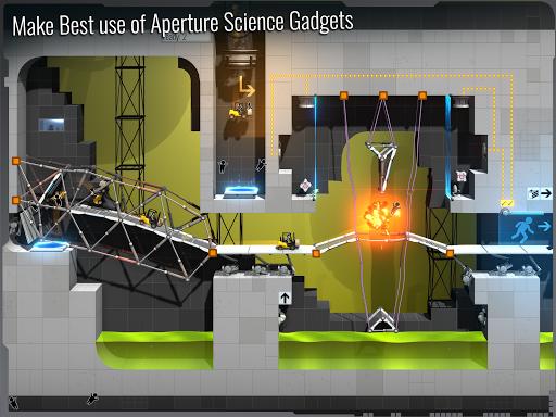 Bridge Constructor Portal screenshot 11