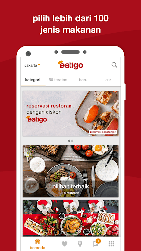 eatigo –  reservasi restoran dengan diskon screenshot 5