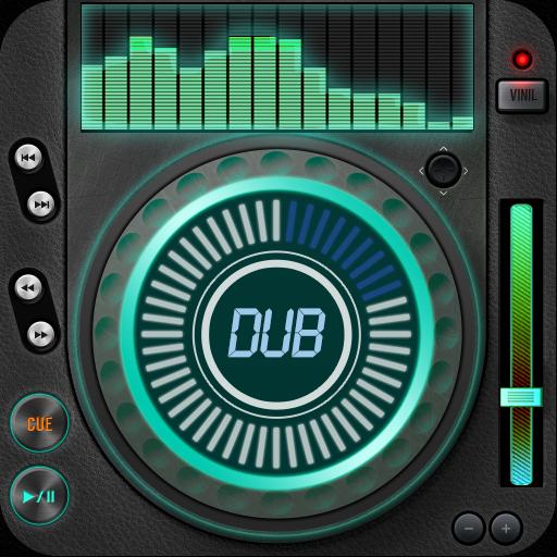 Dub-Musik-Player - Equalizer & Überblendung icon