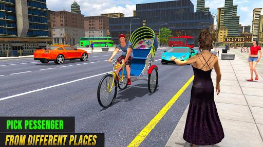 Bicycle Tuk Tuk Auto Rickshaw : Driving Games screenshot 5