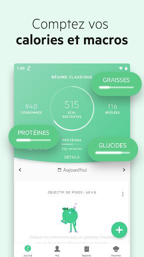 Lifesum: Compteur de Calories screenshot 2