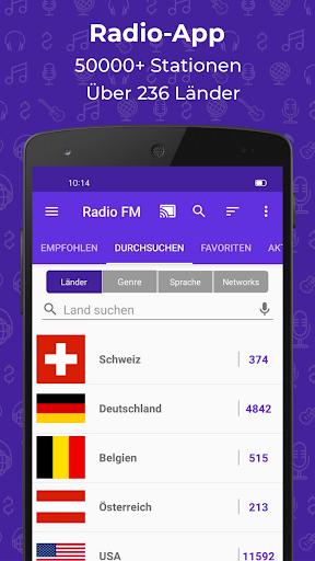 Radio FM: Live-Radio-App screenshot 1