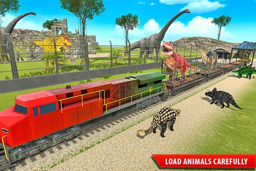Train Simulator 2021: Rescue Dinosaur Transport screenshot 1
