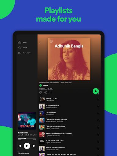 Spotify: মিউজিক এবং পডকাস্ট screenshot 10