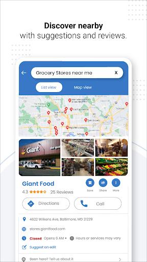 Navegação GPS ao vivo, mapas, direções e explorar screenshot 16