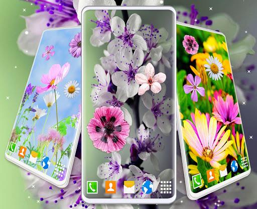 Spring Flowers Live Wallpaper 🌻 Summer Wallpapers screenshot 4