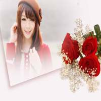 Flower Photo Frame on 9Apps