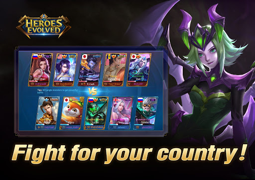 Heroes Evolved 10 تصوير الشاشة