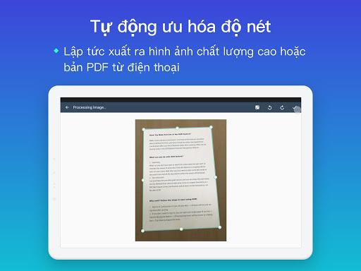 CamScanner:máy quét ảnh, quét thành pdf, miễn phí screenshot 9
