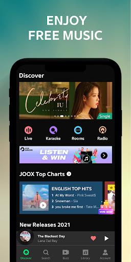 JOOX Music screenshot 1