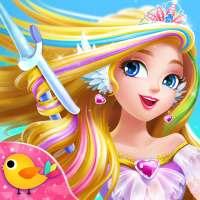 Sweet Princess Fantasy Hair Salon on 9Apps
