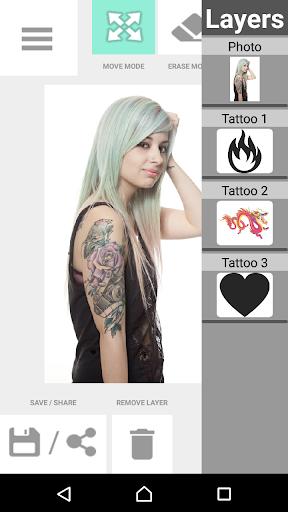 Tattoo my Photo 2.0 screenshot 8
