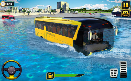 River Bus Driver Tourist Coach Bus Simulator screenshot 14