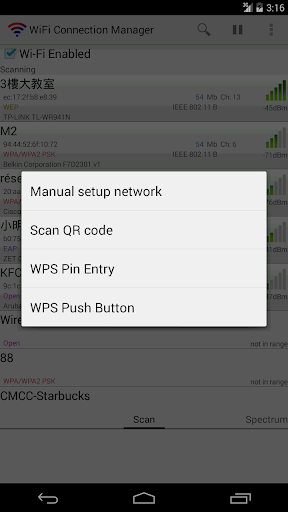WiFi Connection Manager स्क्रीनशॉट 4