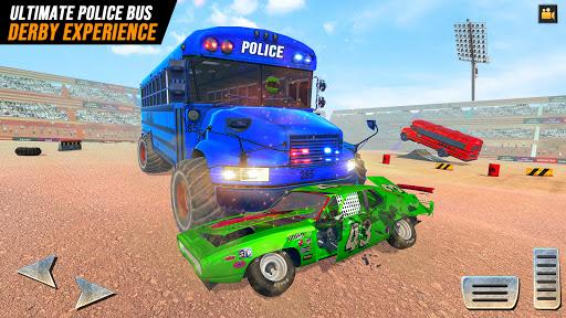 Police Bus Demolition Derby screenshot 2