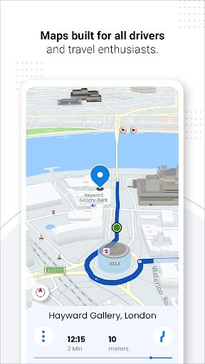 Navegação GPS ao vivo, mapas, direções e explorar screenshot 10