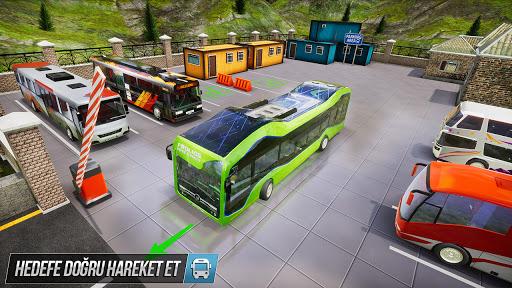 Sürüş Otobüs Park Etme Oyunu 2020: Otobüs oyunları screenshot 5