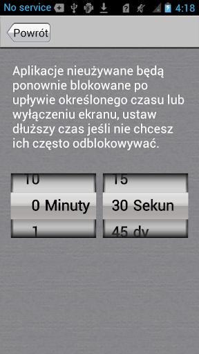Blokada Aplikacji screenshot 5