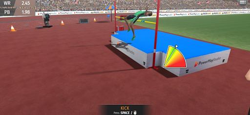 Athletics Mania: Atletica leggera giochi estivi screenshot 2