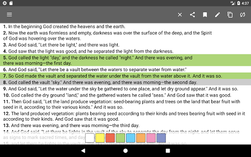 Bible Offline App Free   Audio, KJV, Daily Verse 11 تصوير الشاشة