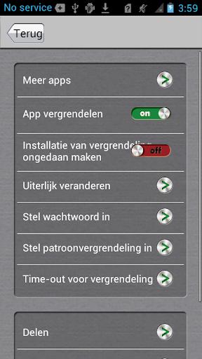 App-vergrendelaar screenshot 4
