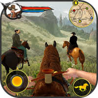 Cowboy Horse Riding Simulation : Gun of wild west on 9Apps