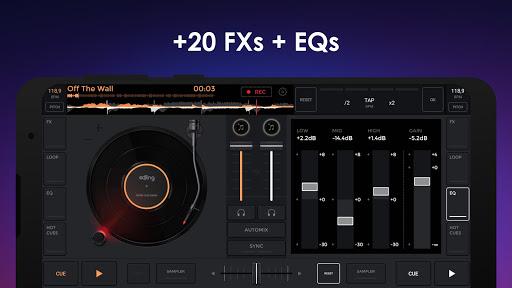 إيدجنغ ميكس: خلاط موسيقي دي جي 4 تصوير الشاشة