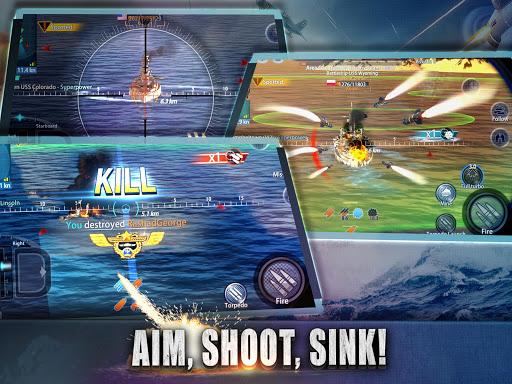 Warship Rising - 10 vs 10 Real-Time Esport Battle screenshot 10